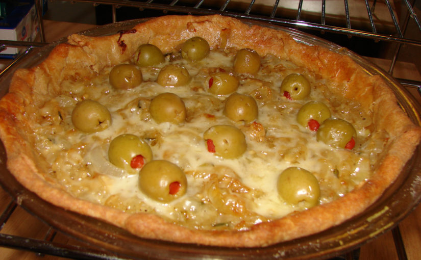 Carmelized Onion Pie