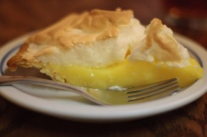 Picture of A Slice of Lemon Meringue Pie