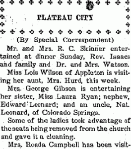 Plateau Voice 20 Jul 1923