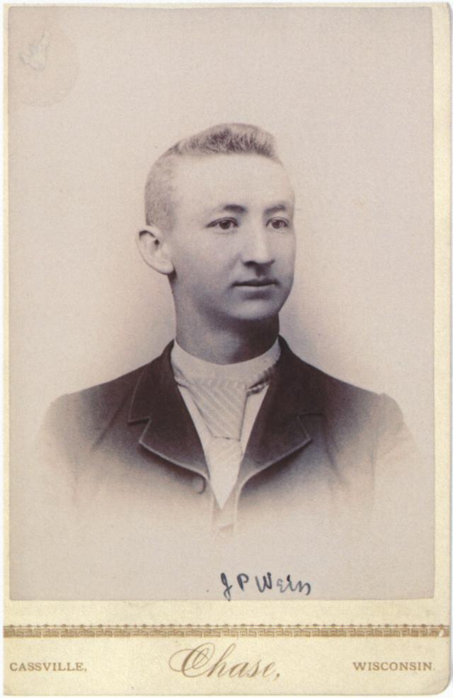 Joseph Weiss early 20s