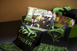2012 Sounders season ticket package