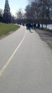 Greenlake path