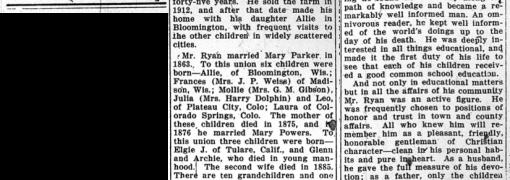 William Ryan obituary