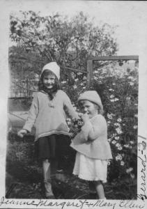 Jeanne Margaret and Mary Ellen Gerard