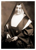 Mother Genevieve Parker from the Immaculate Heart Community web page in 2014