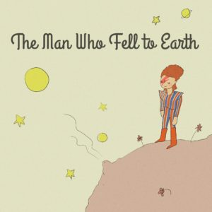 David Bowie imagined as The Little Prince