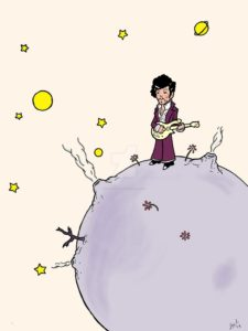 Prince imagined as The Little Prince