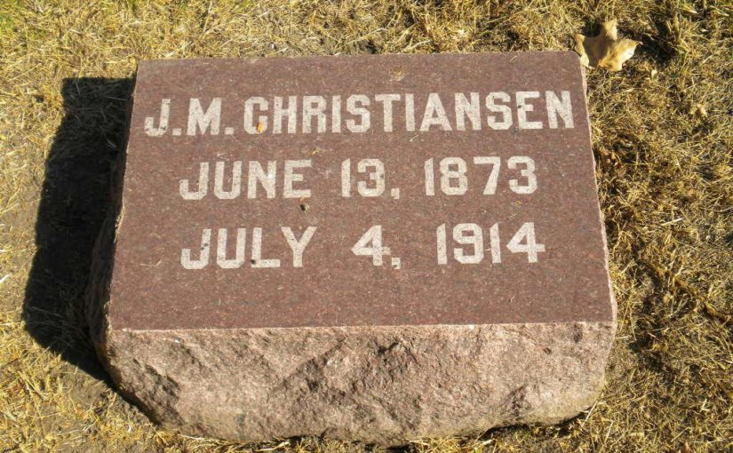 Jens Christiansen's Date of Death